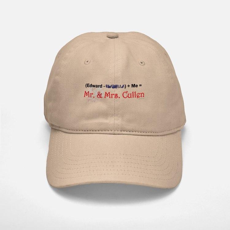 Twilight Mr. and Mrs. Cullen Baseball Baseball Cap
