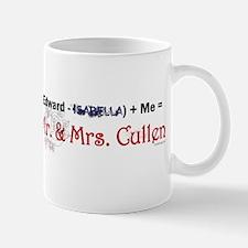 Twilight Mr. and Mrs. Cullen Mug