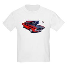 Dodge Challenger Red Car T-Shirt