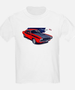 Dodge Challenger Red Car T-Shirt