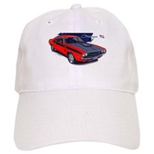 Dodge Challenger Red Car Baseball Cap