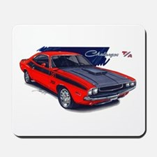 Dodge Challenger Red Car Mousepad