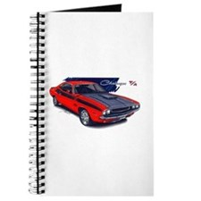 Dodge Challenger Red Car Journal