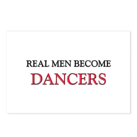 Real Men Become Dancers Postcards (Package of 8)