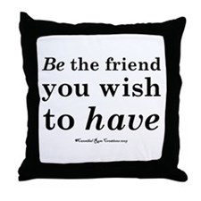 Wishful Being Throw Pillow