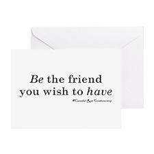 Wishful Being Greeting Card