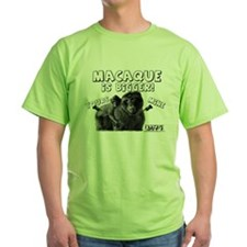 Macaque is Bigger! T-Shirt