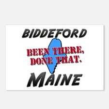 biddeford maine - been there, done that Postcards