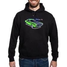 Dodge Challenger Green Car Hoodie