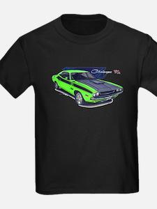 Dodge Challenger Green Car T
