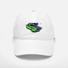 Dodge Challenger Green Car Baseball Baseball Cap