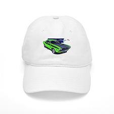 Dodge Challenger Green Car Baseball Cap