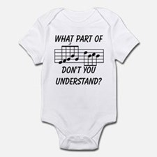 What Part Of Musical Notation Infant Bodysuit