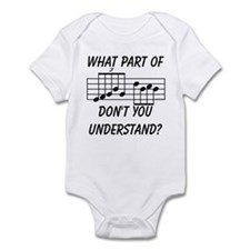 What Part Of Musical Notation Onesie