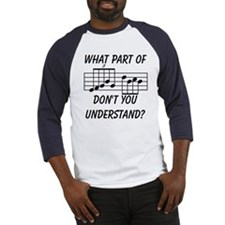 What Part Of Musical Notation Baseball Jersey