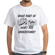 What Part Of Musical Notation Shirt