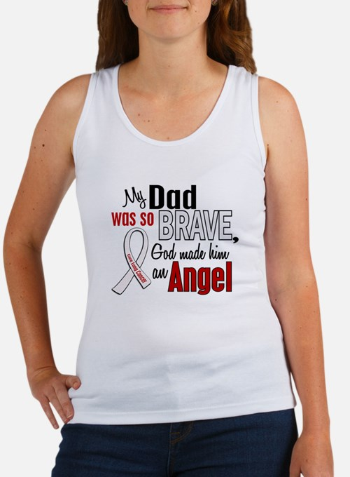 Angel 1 DAD Lung Cancer Women's Tank Top