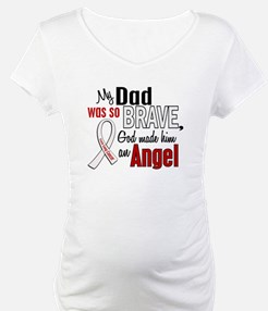 Angel 1 DAD Lung Cancer Shirt