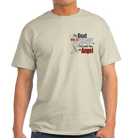 Angel 1 DAD Lung Cancer Light T-Shirt