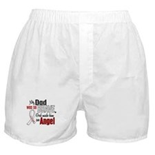 Angel 1 DAD Lung Cancer Boxer Shorts