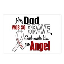 Angel 1 DAD Lung Cancer Postcards (Package of 8)
