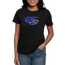 Dodge Challenger Blue Car Tee