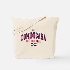 Dominicana Baseball Beisbol Tote Bag