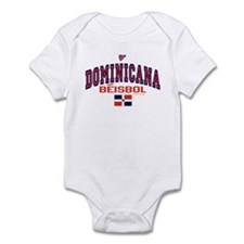 Dominicana Baseball Beisbol Infant Bodysuit