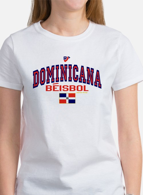 Dominicana Baseball Beisbol Women's T-Shirt