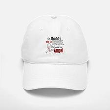 Angel 1 DADDY Lung Cancer Baseball Baseball Cap