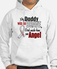Angel 1 DADDY Lung Cancer Hoodie