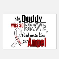 Angel 1 DADDY Lung Cancer Postcards (Package of 8)