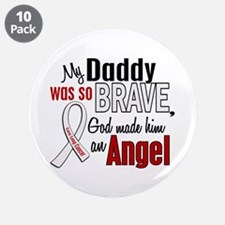 """Angel 1 DADDY Lung Cancer 3.5"""" Button (10 pack)"""