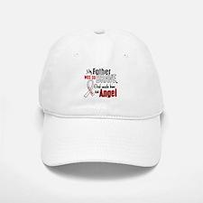 Angel 1 FATHER Lung Cancer Baseball Baseball Cap