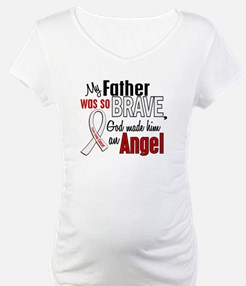 Angel 1 FATHER Lung Cancer Shirt