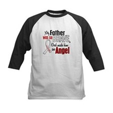 Angel 1 FATHER Lung Cancer Tee