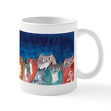 Moonviewing Cats 2 Mug