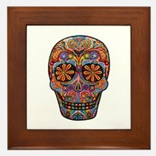 Skull Framed Tile