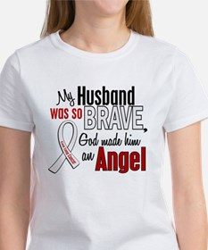 Angel 1 HUSBAND Lung Cancer Tee