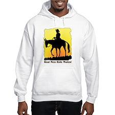 Real Men Ride Mules Hoodie