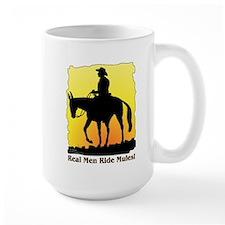 Real Men Ride Mules Mug