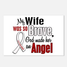 Angel 1 WIFE Lung Cancer Postcards (Package of 8)