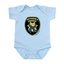 ThinBlueLine Officer'sFamily Infant Bodysuit