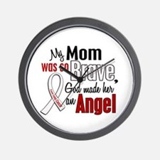Angel 1 MOM Lung Cancer Wall Clock