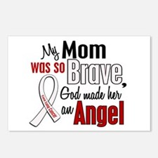 Angel 1 MOM Lung Cancer Postcards (Package of 8)