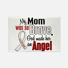 Angel 1 MOM Lung Cancer Rectangle Magnet (10 pack)