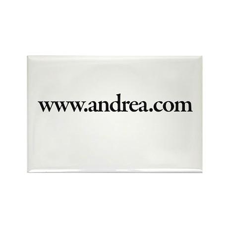 www.Andrea.com Rectangle Magnet