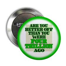 """Four Trillion 2.25"""" Button (10 pack)"""
