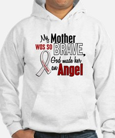 Angel 1 MOTHER Lung Cancer Hoodie