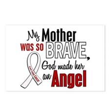 Angel 1 MOTHER Lung Cancer Postcards (Package of 8